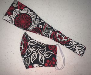 Face mask & headbands set . Handmade. All sizes for Sale in Goodlettsville, TN