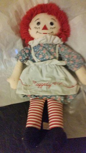 Raggedy Ann Doll for Sale in Houston, TX