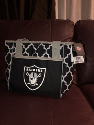 Raiders cooler and bag, brand new with tags. for Sale in Anaheim, CA