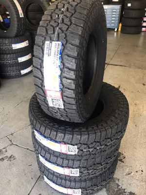 265/70/16 New set of Falken AT tires installed for Sale in Rancho Cucamonga, CA