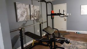Weight bench captain chair weight equipment for Sale in Washington, DC