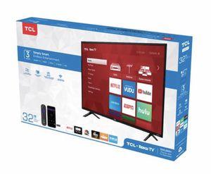 """BRAND NEW 32"""" SMART TV - STILL IN BOX . WILL DELIVER for Sale in Mesa, AZ"""