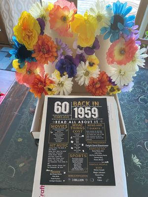 60th Party Decor for Sale in Poulsbo, WA