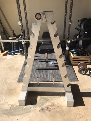 $200 for heavy duty Weight rack for Sale in Orange, CA