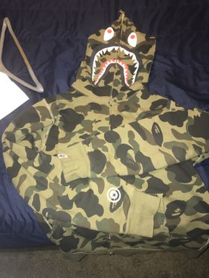 Bape Green 1st Camo full zip up (2020) for Sale in Columbia, SC