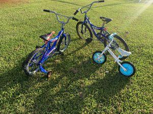 Twin Bikes & baby training bike for Sale in Rosharon, TX