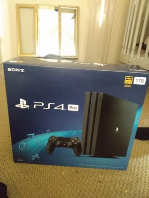 PS4 pro Brand and 12 month membership card for Sale in Granite Bay, CA