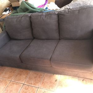 Dark Grey Blue Couch for Sale in Lakewood, CA