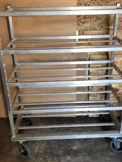 Rolling Metal Shelves for Sale in Tukwila,  WA