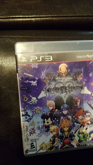 PS3 Kingdom Hearts HD 2.5 Remix for Sale in Orlando, FL