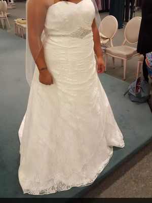 Ivory Lace Wedding Dress for Sale in Spring Valley, CA