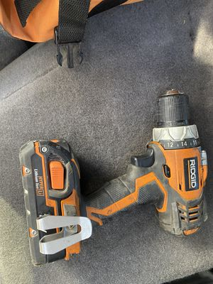 Ridgid drill for Sale in Hayward, CA