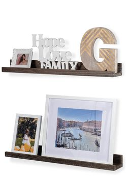 Wood Photo Ledge Shelf (set of 2) for Sale in Los Angeles,  CA