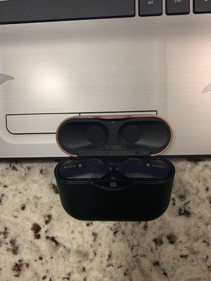 Sony Wireless earbuds with ANC for Sale in Rockville, MD