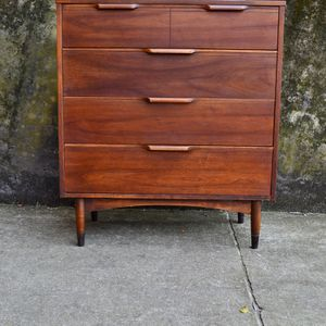 Mid Century Modern Highboy dresser #2 chest - we have a pair! for Sale in Hampton, VA