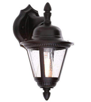 Westport Collection 1-Light Antique Bronze 12.75 in. Outdoor Wall Lantern Sconce NEW for Sale in Plantation, FL