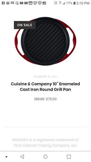 Cuisine & Co. Grill Pan for Sale in Phoenix, AZ