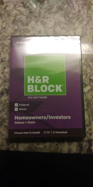 H&R BLOCK SOFTWARE 2018 (READ DESCRIPTION) for Sale in Broadlands, VA