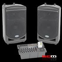 SAMSON PA SPEAKER WITH CONTROL BOARD for Sale in Buckley, WA