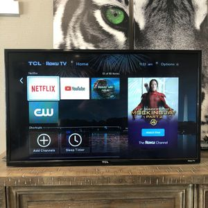 "32"" TCL TV w/ Roku for Sale in Covington, WA"