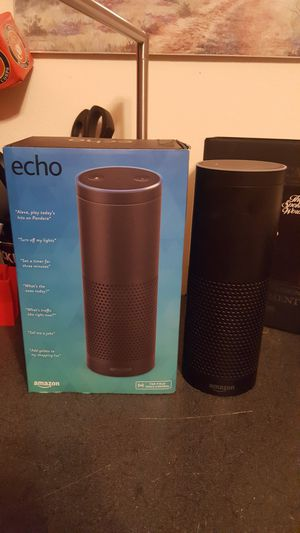 Amazon Echo - Black (1st Generation) for Sale in Crestview, FL