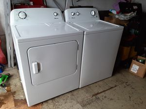 Washer and dryer amana for Sale in Hialeah, FL