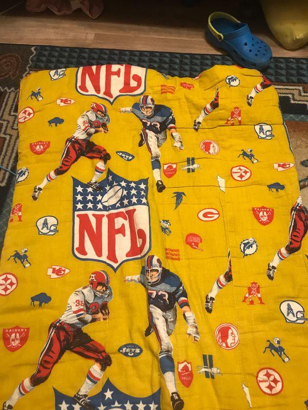 Vintage mid 70s NFL Sleeping bag