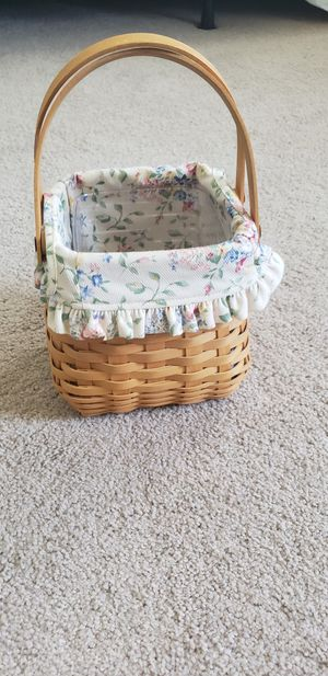 Longaberger 2002 Tiny Tote Basket Combo for Sale in Shingle Springs, CA