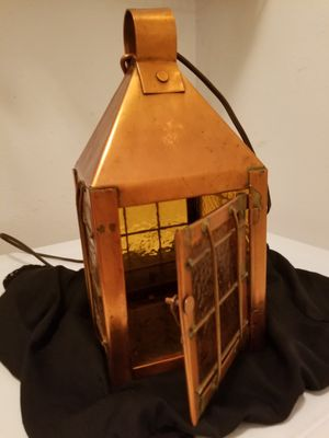Hand Made Copper Lamp WORKING Condition!!! for Sale in Thonotosassa, FL