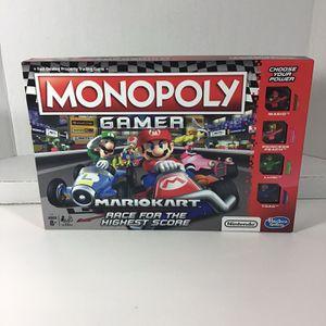 Monopoly Gamer Mario Kart for Sale in Sewell, NJ