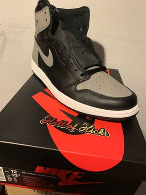 Air Jordan shadow 1 size 12 for Sale in Elmont, NY