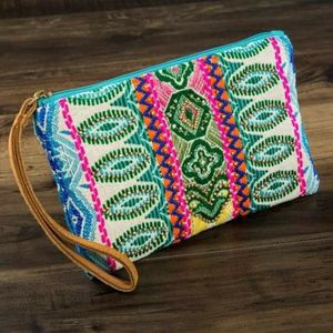 Maya clutch Handmade ethnic pattern and seed bead for Sale in GRANT VLKRIA, FL