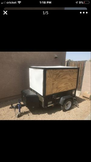 Small Utility trailer enclosed for Sale in El Mirage, AZ