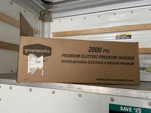 greenworks pressure washer 2000 psi for Sale in San Antonio, TX