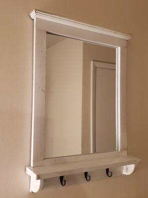 Wall Mirror w/ Hooks for Sale in Norfolk, VA