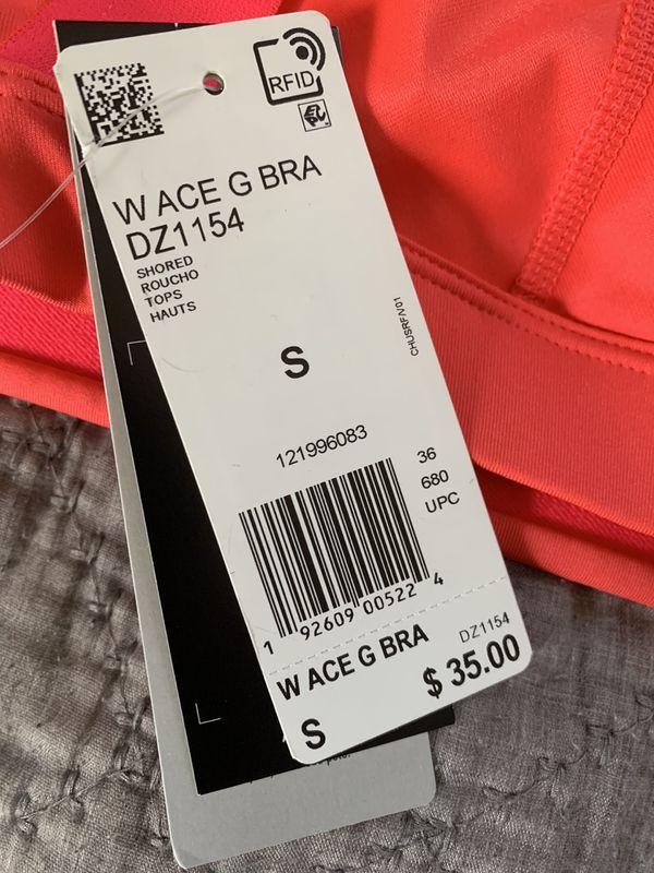 Adidas hot pink sports bra