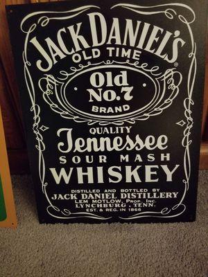 2 Metal Jack Daniel's Signs for Sale in Rockville, MD