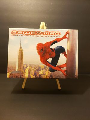 SPIDER MAN Limited Edition DVD Collector's Gift Set for Sale in Santa Ana, CA