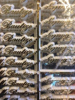 Rótulos Para Recuerdos de Bautizo, Quinceaños, y Nuestra Boda y Baby Shower. El costo es por 100 rotulós. for Sale in Chicago, IL