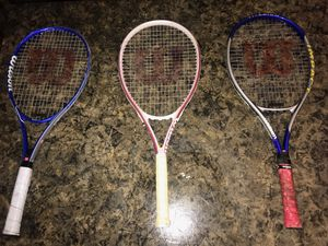 Wilson Tennis rackets for Sale in Newport News, VA