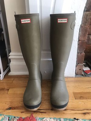 Olive Green Unisex Hunter Rain Boots for Sale in Brooklyn, NY
