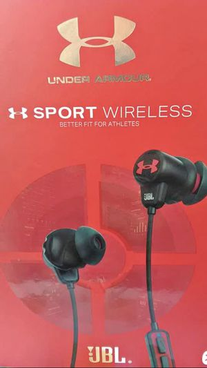 JBL Under Armour Sports Wireless-In-Ear Bluetooth earbuds Sealed box for Sale in Cambridge, MA