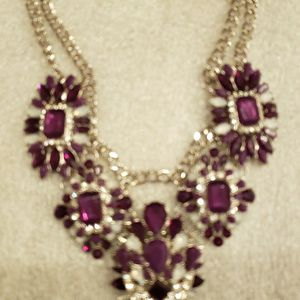 Purple Chunky Necklace for Sale in Clovis, CA