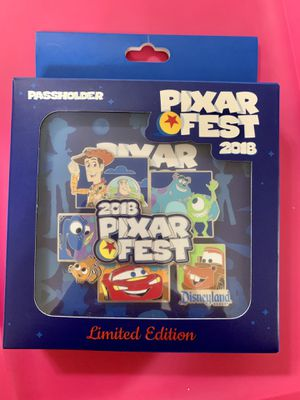 Disney Parks Pixar Fest Jumbo LE 1000 Pin NIB Annual Passholder AP for Sale in Glendale, CA