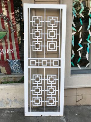 Salvage Steel Door perfect for a Spring Garden Trellis for Sale in Tacoma, WA