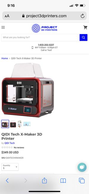 Brand new 3D x maker for Sale in Torrance, CA