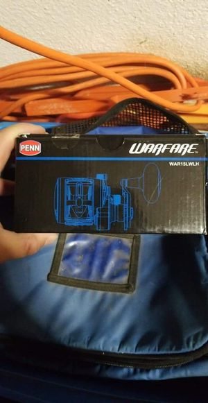 Penn Warfare Left handed level wind reel for Sale in New York, NY