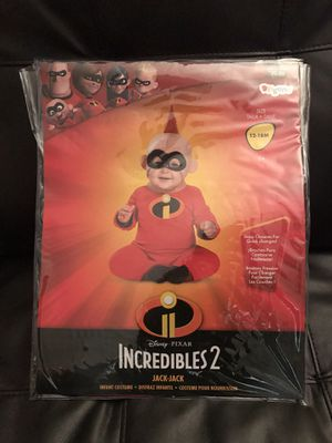 NEW JACK-JACK INCREDIBLES COSTUME 12-18 months for Sale in Columbus, OH