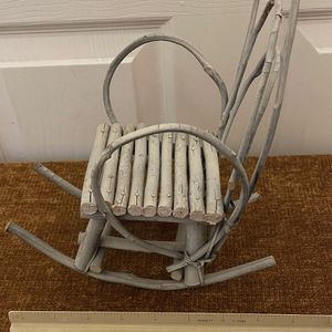 Vintage Rocking Chair Decor for Sale in Glendale, AZ