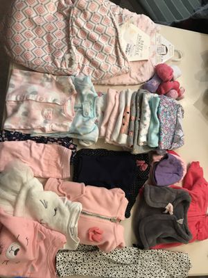 Baby Girl Clothes (Fall/Winter) 0-3M for Sale in Alexandria, VA